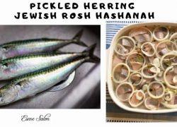 Pickled Herring Jewish Rosh Hashanah