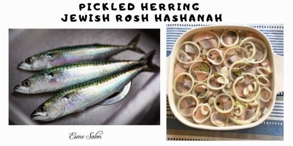 Pickled Herring Jewish Rosh Hashanah