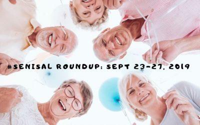#SeniSal Roundup: Sept 23-27, 2019