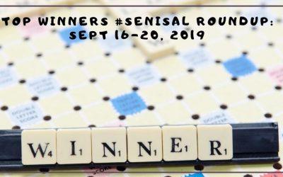 #SeniSal Roundup: Sept 16-20, 2019
