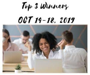Top 3 winners