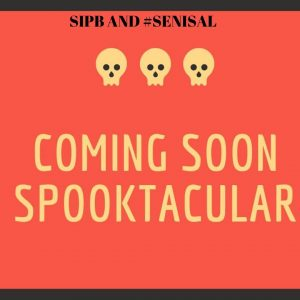 #43 Senior Salon 2019 Invite to Spooktacular Posting