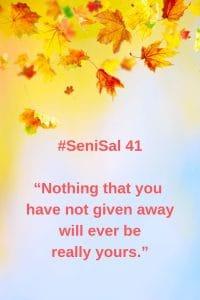 #41 Senior Salon 2019 Fall leaves