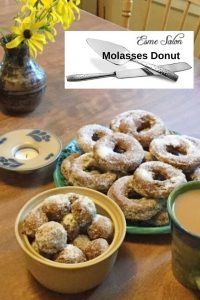 Molasses Donut
