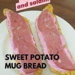 Sweet Potato Mug bread