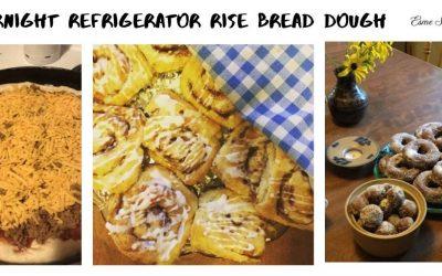 Overnight Refrigerator Rise Bread Dough