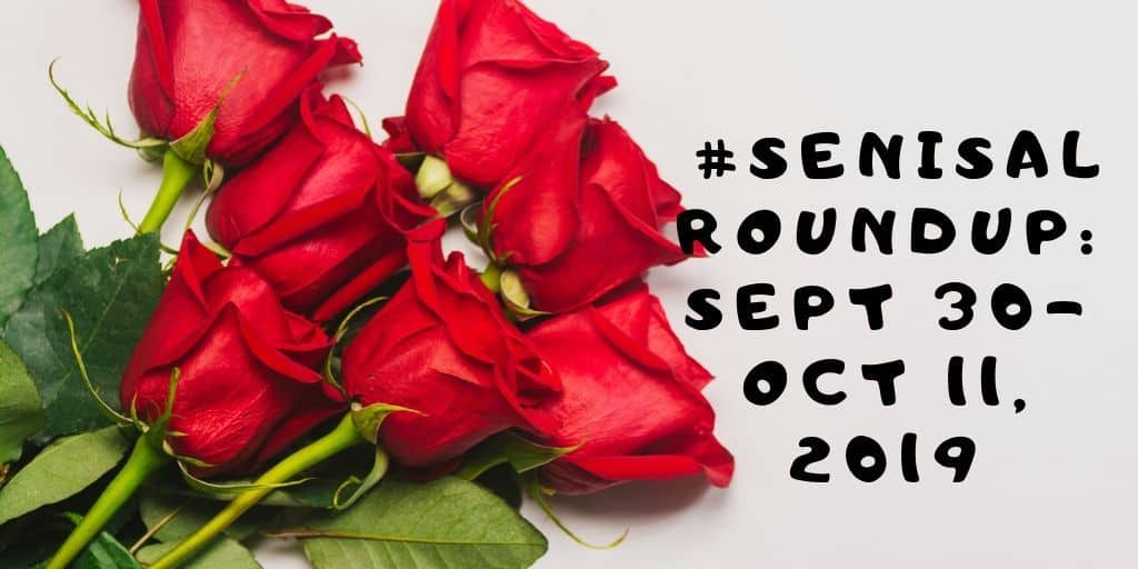 #SeniSal Roundup: Sept 30-Oct 11, 2019