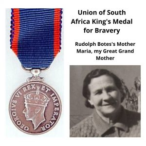 #45 Senior Salon 2019 Union of South Africa King's Medal for Bravery