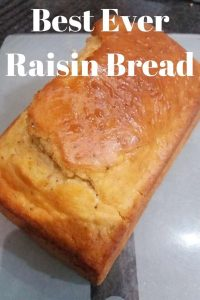 Best Ever Raisin Bread unsliced
