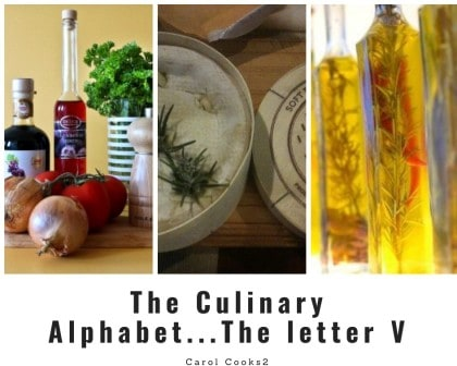 The Culinary Alphabet . The Letter V