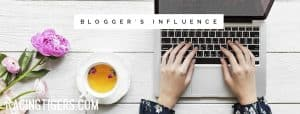 Banner for FB Page Blogger's Influence