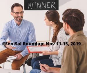 #SeniSal Roundup: Nov 11-15, 2019 Top 3 winners