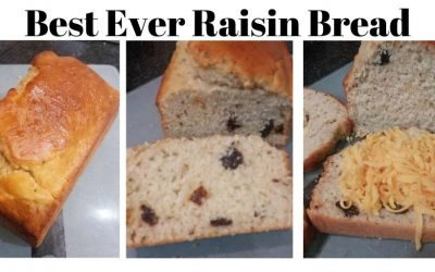 Eat the Best Ever Raisin Bread