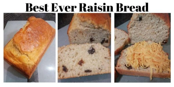 Best Ever Raisin Bread