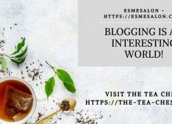 Blogging is an interesting world!
