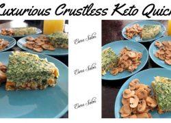 Luxurious Crustless Keto Quiche