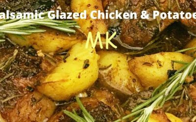 Balsamic Glazed Chicken & Potatoes