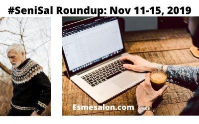#SeniSal Roundup: Nov 11-15, 2019