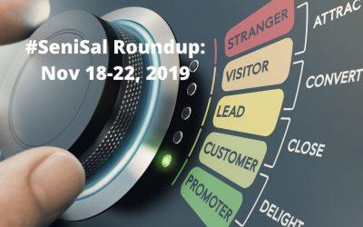 #SeniSal Roundup: Nov 18-22, 2019
