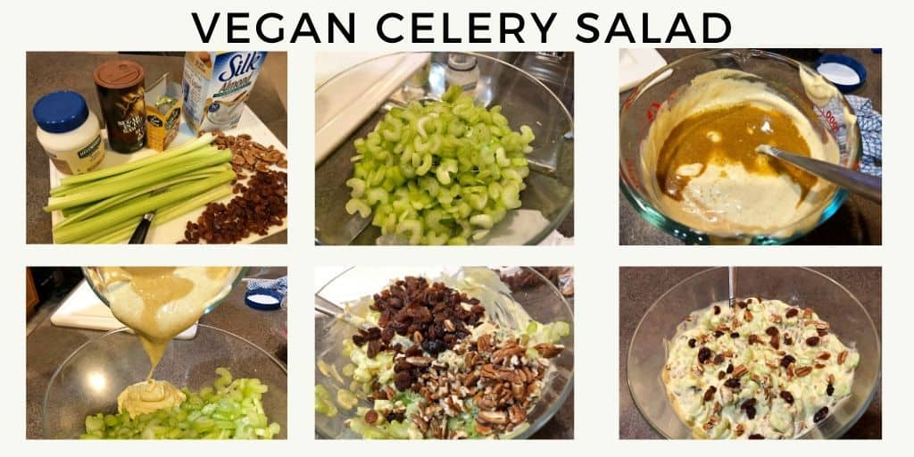 Vegan Celery Nut Salad