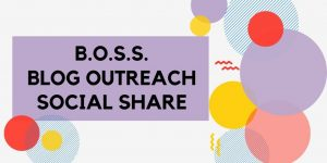 Blog Outreach Social Share Main Page Logo