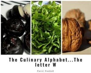 The Culinary Alphabet, The Letter W