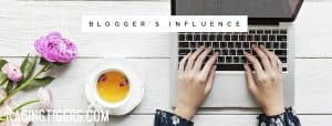 Bloggers Influence Cover page