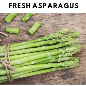Bunch of fresh Asparagus to use as Oven Roasted Fresh Vegetables