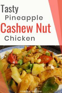 Tasty Pineapple Cashew Nut Chicken