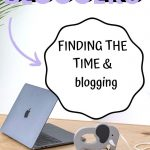 Finding the Time & blogging