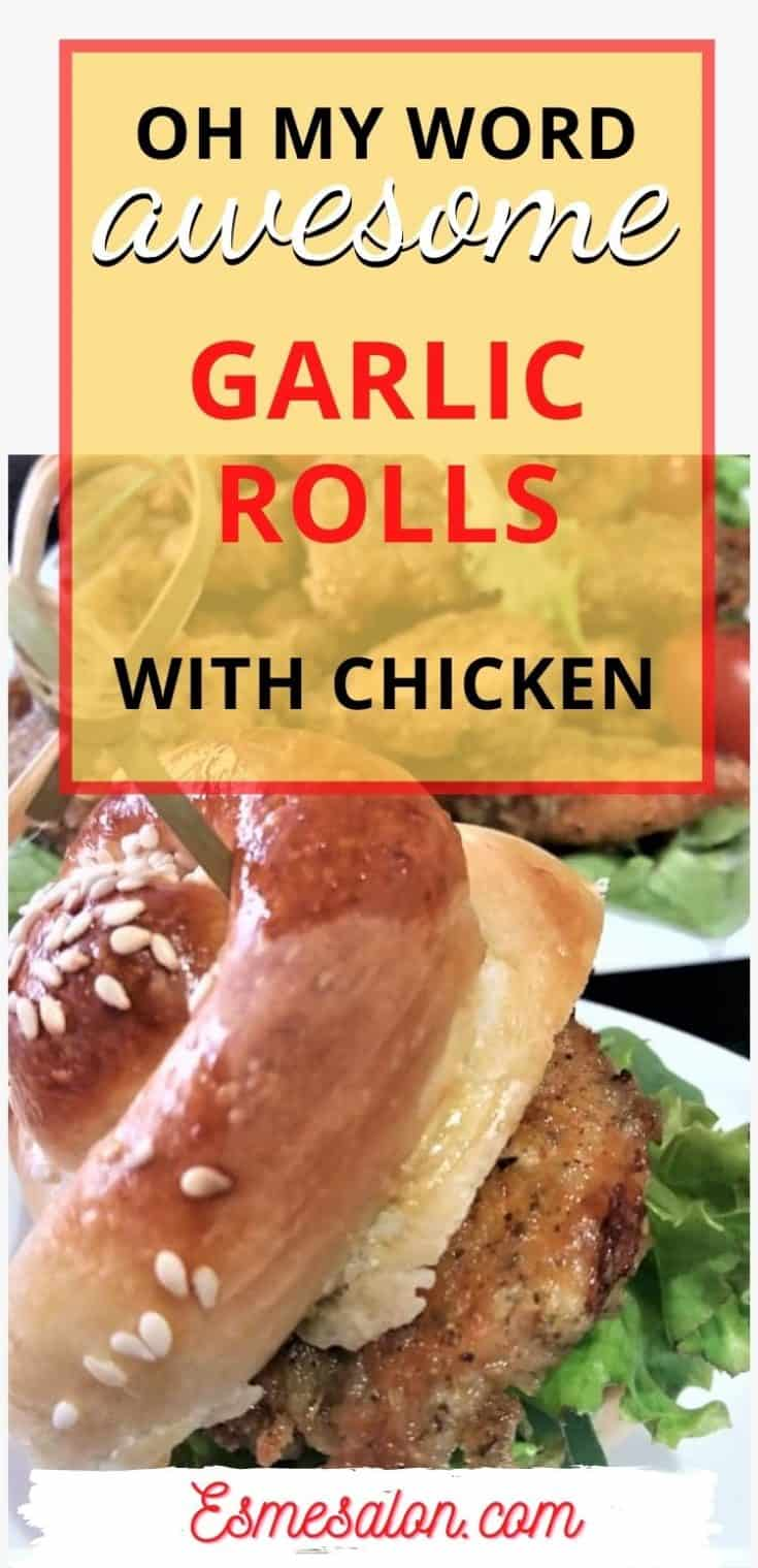 Easy and quick garlic bread roll for all occasions