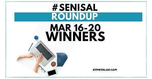 #SeniSal Roundup: Mar 16-20