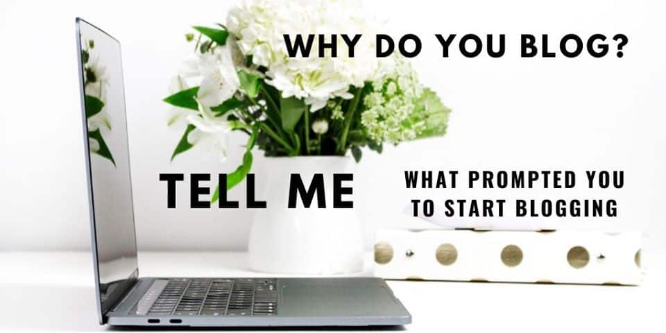 What Prompted you to Start Blogging 4