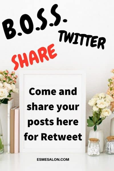 Come and share your posts for Retweet B.O.S.S.