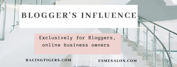 Blogger's Influence FB Logo