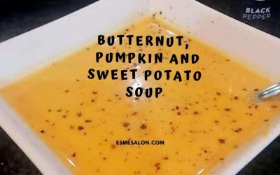 Butternut Pumpkin and Sweet Potato Soup