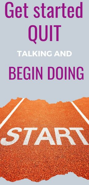 #69 Senior Salon Get started by quit talking and begin doing