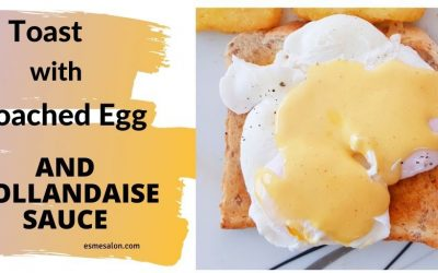 Poached Eggs Homemade Hollandaise Sauce