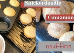 Snickerdoodle Cinnamon Muffins
