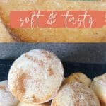 Snickerdoodle Cinnamon and sugar Muffins