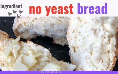 No Yeast 4 Ingredient Bread