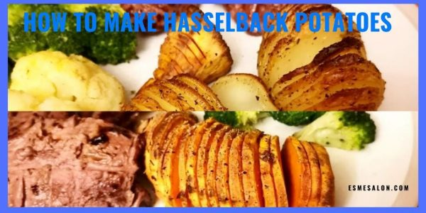 Hasselback Potatoes and Sweet Potatoes