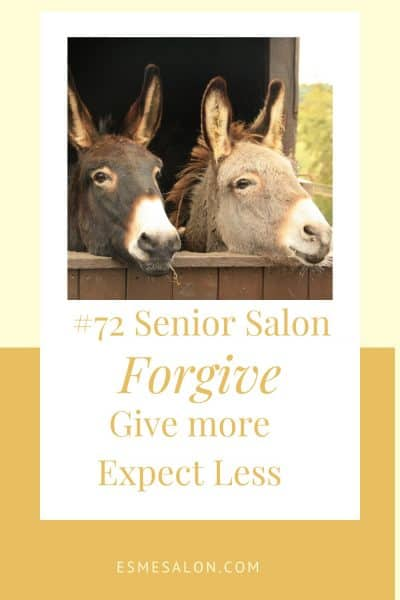 #72 Senior Salon Farmers Donkey