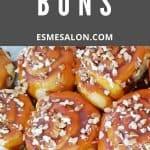 Sticky Caramel Cinnamon Buns
