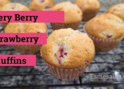 Very Berry Strawberry Muffins