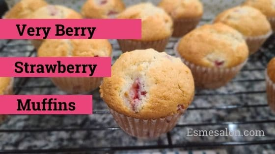 Very Berry Strawberry Muffins