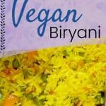 Aromatic Vegan Biryani