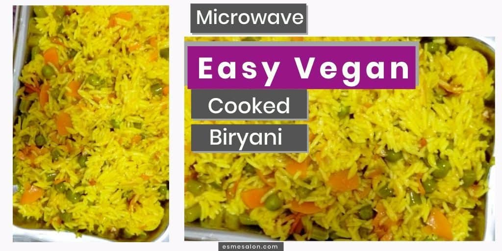 A tasty and vegan biryani