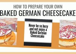 Baked German Cheesecake