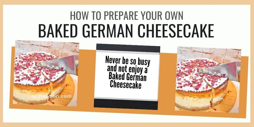 Baked German Cheesecake